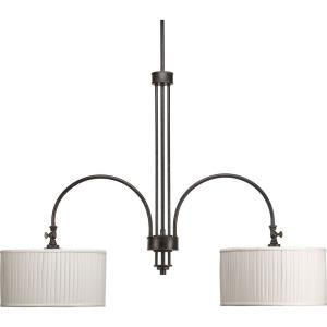 Clayton - Two Light Stem Mount Linear Chandelier - Chandelier