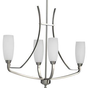 Wisten - 29 Inch Height - Chandeliers Light - 4 Light - Tulip Shade - Line Voltage