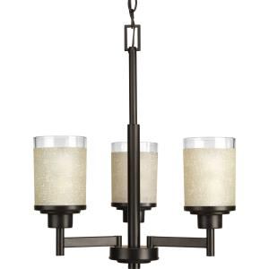Alexa - Chandeliers Light - 3 Light in Modern style - 17 Inches wide by 19.63 Inches high