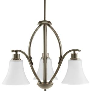 Joy - Chandeliers Light - 3 Light in Transitional and Traditional style - 20 Inches wide by 16.38 Inches high