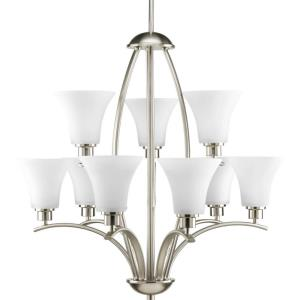 Joy - Chandeliers Light - 9 Light in Transitional and Traditional style - 28 Inches wide by 27.75 Inches high