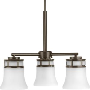 Cascadia - Chandeliers Light - 3 Light in Coastal style - 21 Inches wide by 16.75 Inches high