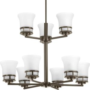Cascadia - Chandeliers Light - 9 Light in Coastal style - 30 Inches wide by 21.88 Inches high