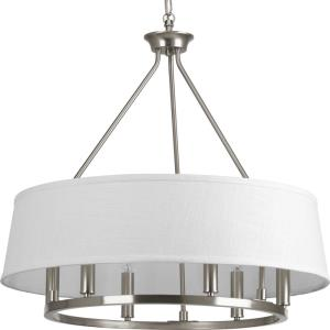 Cherish - Chandeliers Light - 6 Light in Coastal style - 24 Inches wide by 22.38 Inches high