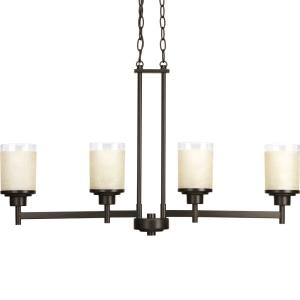 Alexa - Four Light Linear Chandelier