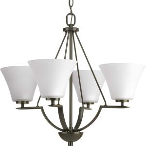 Bravo - Chandeliers Light - 4 Light in Modern style - 24 Inches wide by 21 Inches high