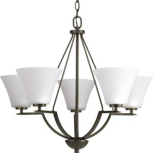 Bravo - Chandeliers Light - 5 Light in Modern style - 27 Inches wide by 23 Inches high