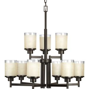 Alexa - Chandeliers Light - 9 Light in Modern style - 28 Inches wide by 28.5 Inches high