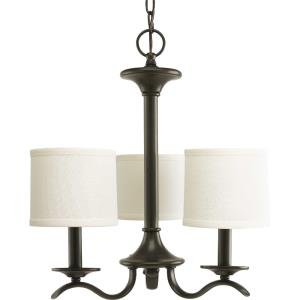 Inspire - Chandeliers Light - 3 Light - Drum Shade in Transitional and Traditional style - 16.81 Inches wide by 18 Inches high