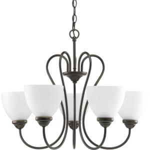 Heart - Chandeliers Light - 5 Light in Farmhouse style - 25.25 Inches wide by 19.13 Inches high