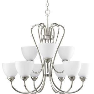 Heart - 27.75 Inch Height - Chandeliers Light - 9 Light - Line Voltage