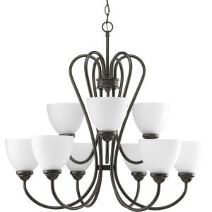 Heart - Chandeliers Light - 9 Light in Farmhouse style - 29.81 Inches wide by 27.75 Inches high