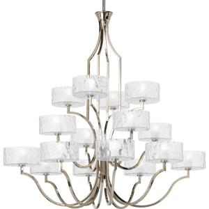 Caress - Chandeliers Light - 16 Light in Luxe and New Traditional style - 47 Inches wide by 46.19 Inches high