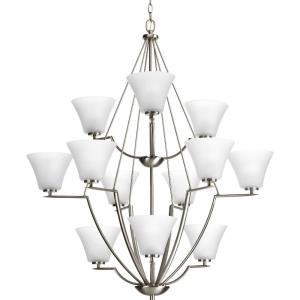 Bravo - Chandeliers Light - 12 Light in Modern style - 38 Inches wide by 44 Inches high