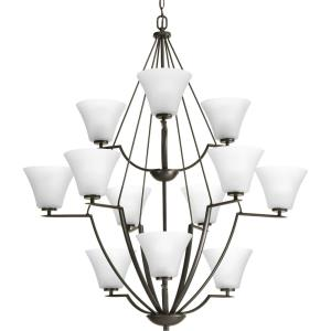 Bravo - Twleve Light 3-Tier Chandelier