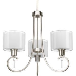 Invite - Chandeliers Light - 3 Light in New Traditional and Transitional style - 22 Inches wide by 19.75 Inches high