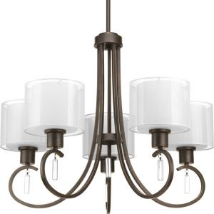Invite - Chandeliers Light - 5 Light in New Traditional and Transitional style - 25.25 Inches wide by 20.75 Inches high