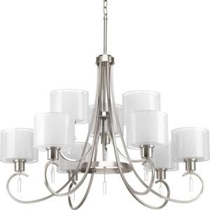 Invite - 26.5 Inch Height - Chandeliers Light - 9 Light - Line Voltage