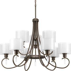 Invite - Chandeliers Light - 9 Light in New Traditional and Transitional style - 35.63 Inches wide by 26.5 Inches high