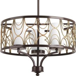 Cirrine - Three Light Chandelier