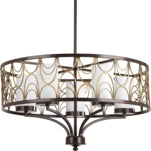 Cirrine - Five Light Chandelier