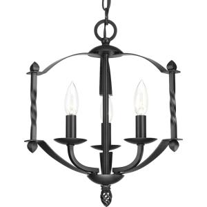 Greyson - 15.875 Inch Height - Chandeliers Light - 3 Light - Line Voltage