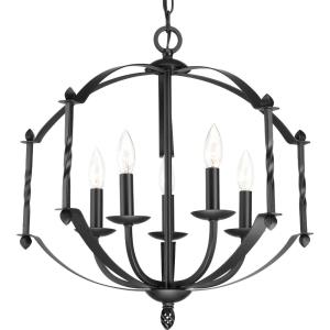 Greyson - Chandeliers Light - 5 Light in Farmhouse style - 21.5 Inches wide by 20.5 Inches high