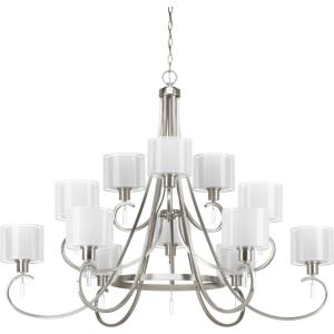 Invite - Chandeliers Light - 12 Light in New Traditional and Transitional style - 49 Inches wide by 38 Inches high
