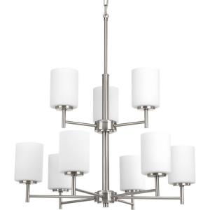 Replay - Chandeliers Light - 9 Light in Modern style - 25.5 Inches wide by 28 Inches high