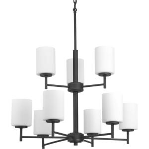 Replay - 28 Inch Height - Chandeliers Light - 9 Light - Line Voltage