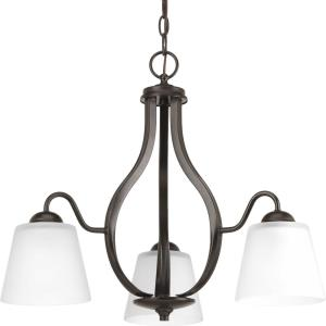 Arden - Chandeliers Light - 3 Light in Farmhouse style - 22 Inches wide by 18.75 Inches high