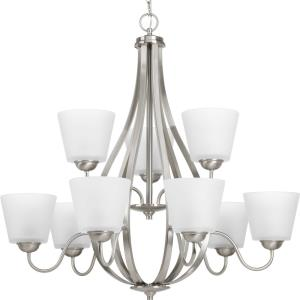 Arden - Chandeliers Light - 9 Light in Farmhouse style - 30.5 Inches wide by 30 Inches high