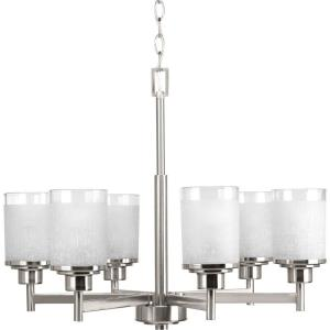Alexa - Chandeliers Light - 6 Light in Modern style - 25 Inches wide by 19.75 Inches high