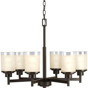 Alexa - 19.75 Inch Height - Chandeliers Light - 6 Light - Line Voltage