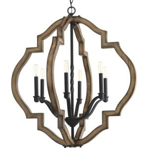 Spicewood - Chandeliers Light - 6 Light in Farmhouse style - 30 Inches wide by 32.5 Inches high