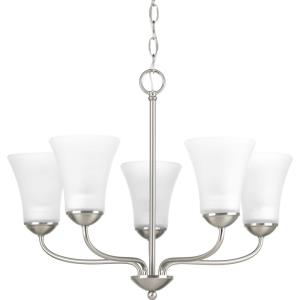 Classic - Chandeliers Light - 5 Light in Transitional and Traditional style - 21.88 Inches wide by 17.25 Inches high
