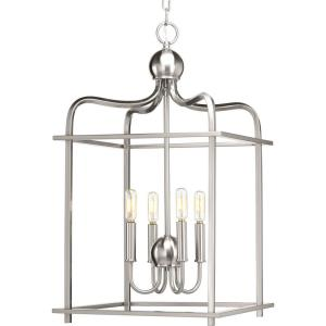 Assembly Hall - Pendants Light - 4 Light in Coastal style - 15 Inches wide by 26 Inches high