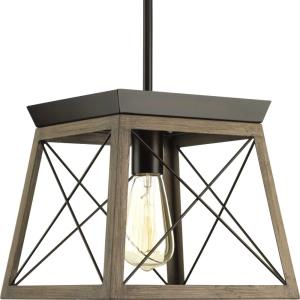 Briarwood - 1 Light Mini Pendant in Coastal style - 10 Inches wide by 9 Inches high