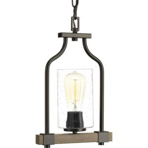 Barnes Mill - 14 Inch Height - Pendants Light - 1 Light - Line Voltage - Damp Rated