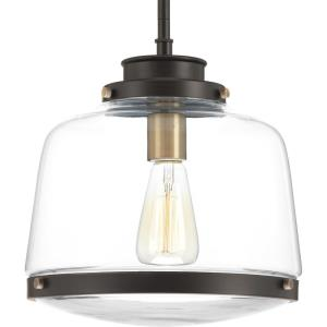 Judson - Pendants Light - 1 Light in Farmhouse style - 11 Inches wide by 11.25 Inches high