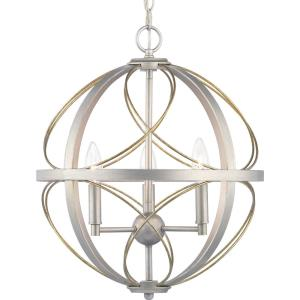 Brandywine - Pendants Light - 3 Light in Farmhouse style - 16 Inches wide by 19.75 Inches high