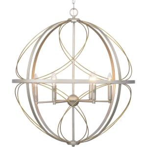 Brandywine - Pendants Light - 6 Light in Farmhouse style - 28 Inches wide by 31.88 Inches high