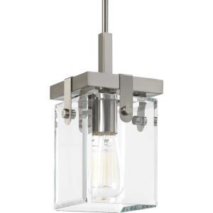 Glayse - 11.875 Inch Height - Pendants Light - 1 Light - Beveled Shade - Line Voltage