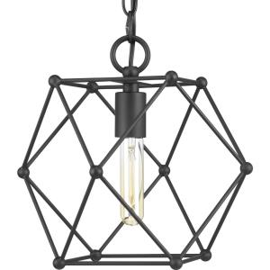 Spatial - 11.25 Inch Height - Pendants Light - 1 Light - Line Voltage