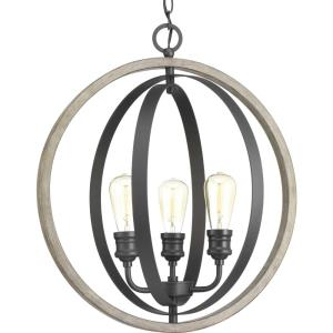 Conestee - Pendants Light - 3 Light in Farmhouse style - 21.25 Inches wide by 24 Inches high
