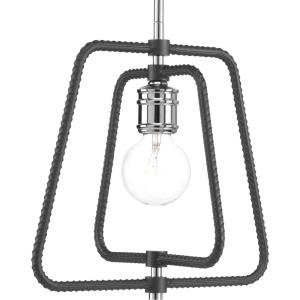Re-Bar - Pendants Light - 1 Light in Farmhouse style - 12.5 Inches wide by 12.38 Inches high