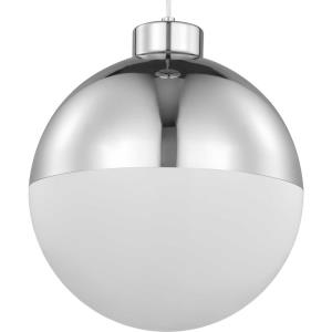 Globe LED - Pendants Light - 1 Light - Globe Shade in Mid-Century Modern style - 11.63 Inches wide by 13.5 Inches high