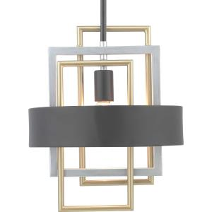 Adagio - Pendants Light - 1 Light in Luxe and Modern style - 12 Inches wide by 14.63 Inches high