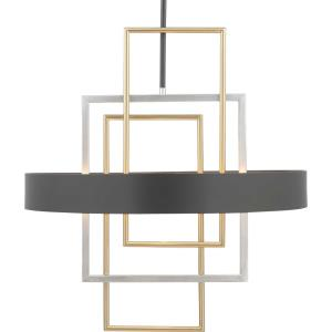 Adagio - Pendants Light - 6 Light in Luxe and Modern style - 24 Inches wide by 26 Inches high