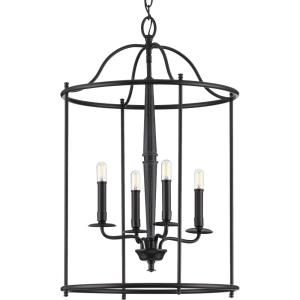 Durrell - 4 Light in Coastal style - 18 Inches wide by 28.5 Inches high